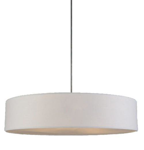Mara Drum Pendant Light -- White