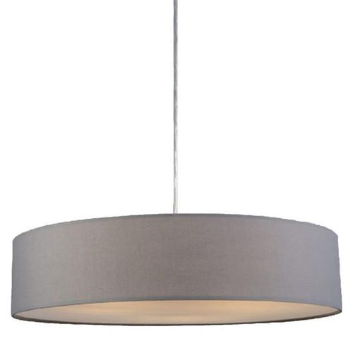 Mara Drum Pendant Light -- Grey