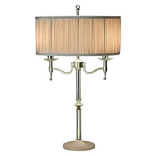 Stanford Nickel Table Lamp by Viore Design
