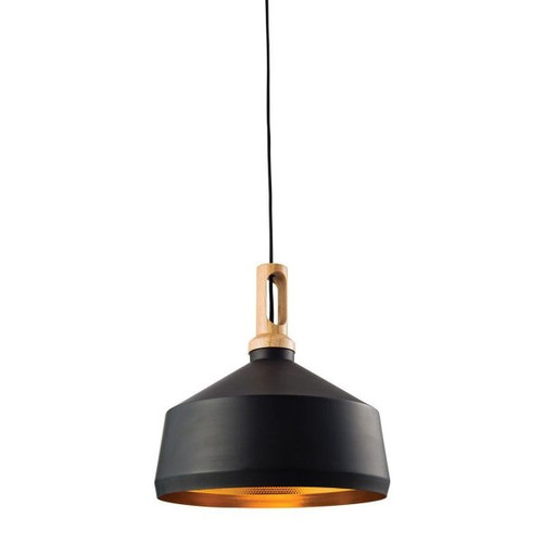 Biorn Angled Pendant Light - Black