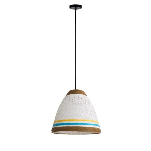 Jane Paper Brown Pendant Light