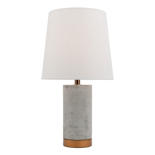 Florence Concrete Bronze Table Lamp