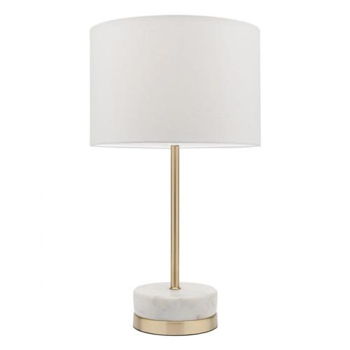 Leni Marble Brass Table Lamp