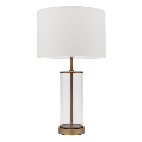 Sonya Brass Glass Table Lamp