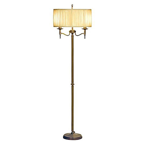 Stanford Brass Floor Lamp by Viore Design