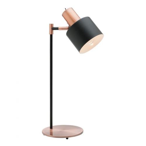 Benjamin Black and Copper Table Lamp