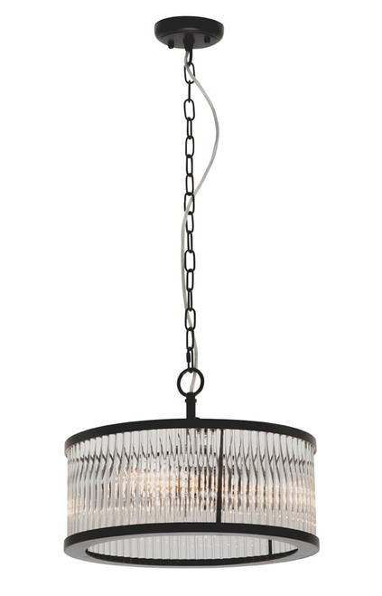 Canterbury 3 Light Round Pendant Light