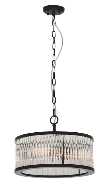 Canterbury 4 Light Round Pendant Light