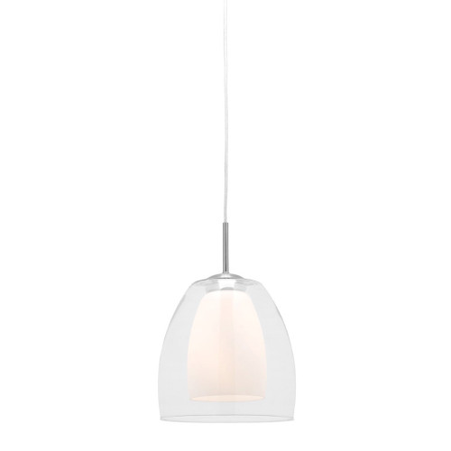 Aries Double Glass Pendant Light - Large