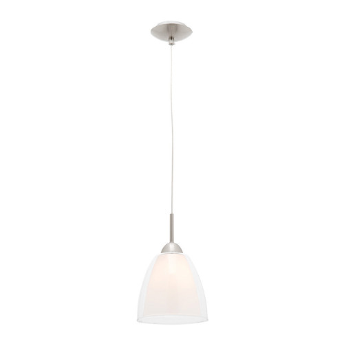 Aries Double Glass Pendant Light - Small