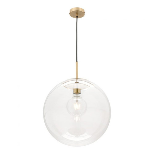 Madrid Glass Ball Pendant Light Large