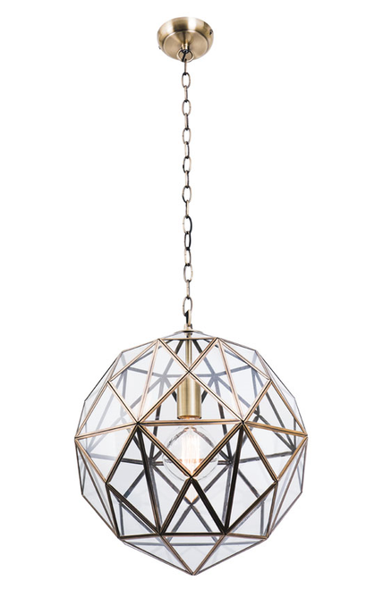 Medici 1 Light Web Pendant