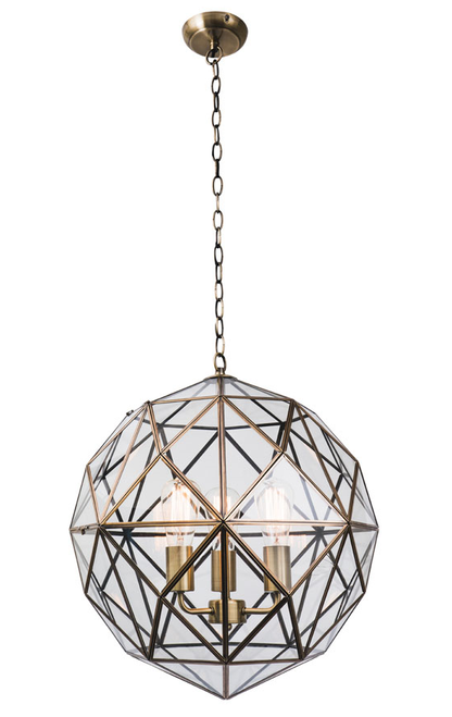 Medici 3 Light Web Pendant