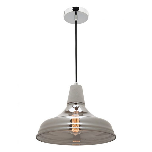 Kristov Glass Dome Pendant Light Large