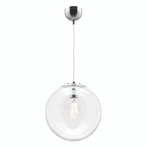 Round Glass Ball Pendant Light