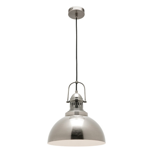 Industry Antique Silver Pendant Light