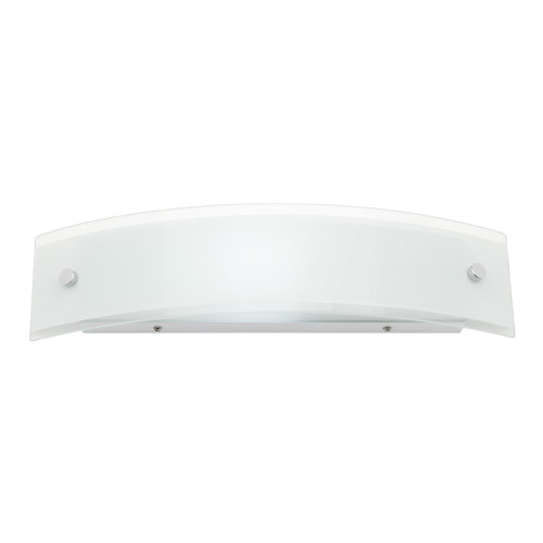 Mason White Glass Wall Light