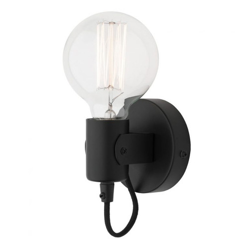 Basic Wall Light in Black