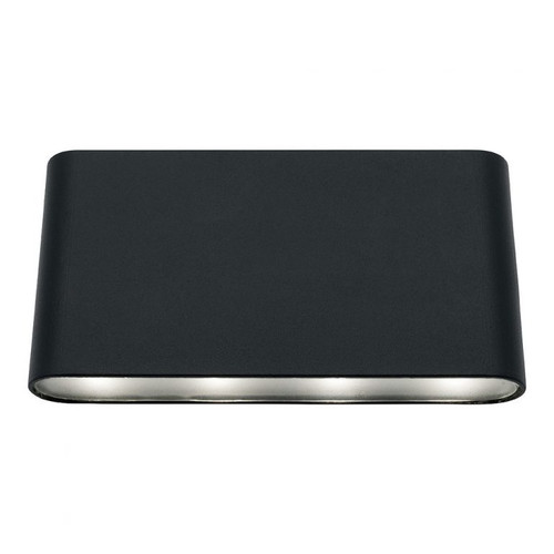 Sasha LED Up and Down Wall Light in Black