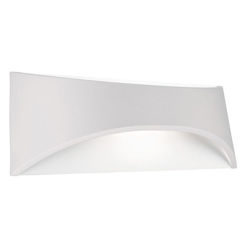 Wells LED Outdoor Wall Light in White
