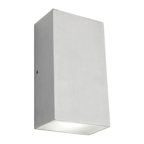 Brenton Square LED Outdoor Wall Light in Chrome