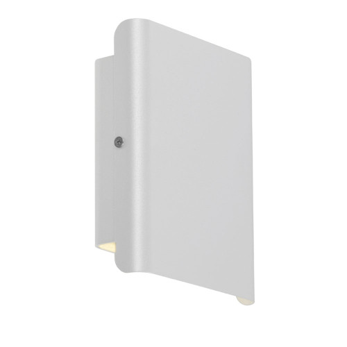 Dante Modern LED Up/Down Wall Light in White