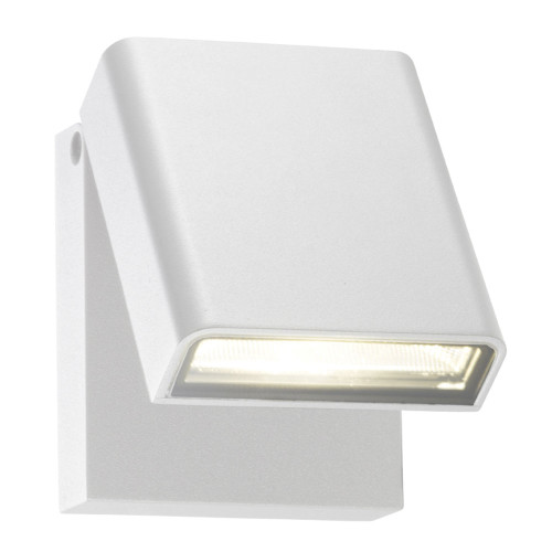 Diego LED Adjustable Wall Lamp in White