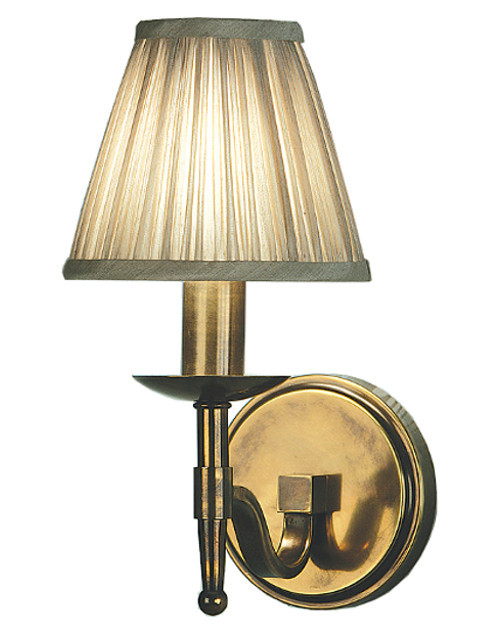 Stanford 1 Light Brass Wall Lamp by Viore Design