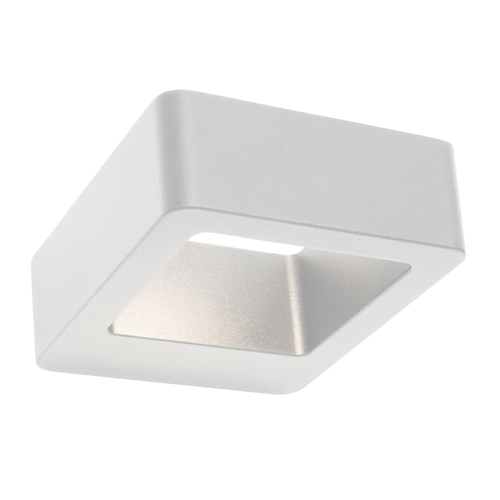 Leeds LED Up Down Outdoor Wall Light in White