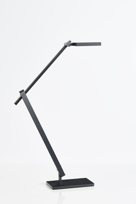 Milton LED Desk Lamp in Black