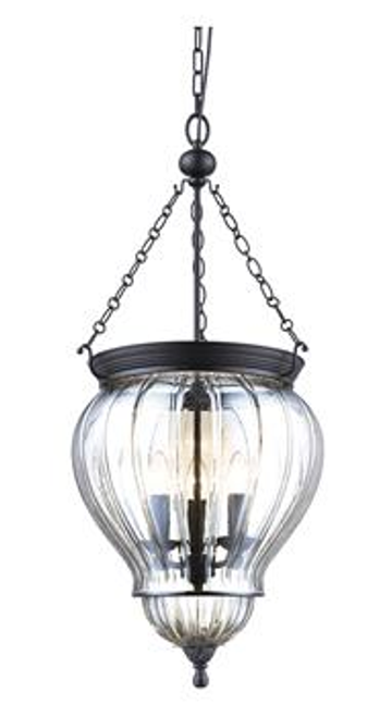 Diana Glass Jar Lantern Pendant Light