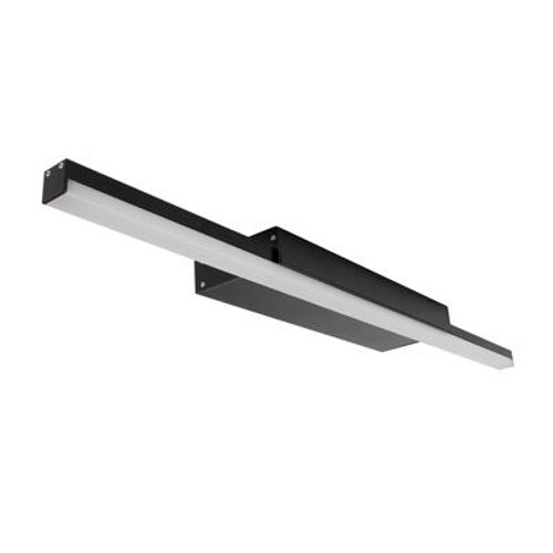 Shadowline LED Vanity Bathroom Wall Light in Black