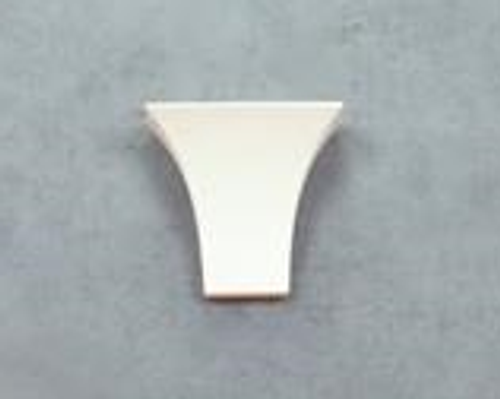 Wide Torch Ceramic Wall Bracket Light