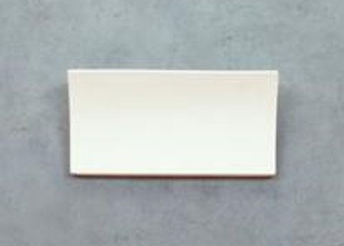 Rectangular Ceramic Wall Bracket Light