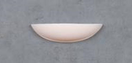 Bowl Ceramic Wall Bracket Light