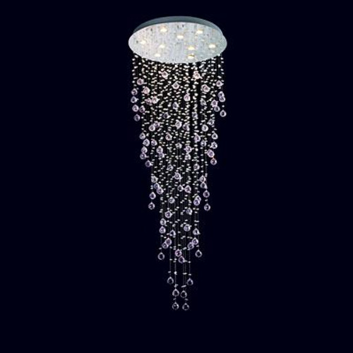 Snowdrop Crystal LED Pendant