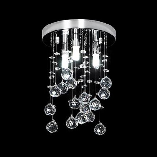 Starlight LED Crystal CTC Pendant 200mm