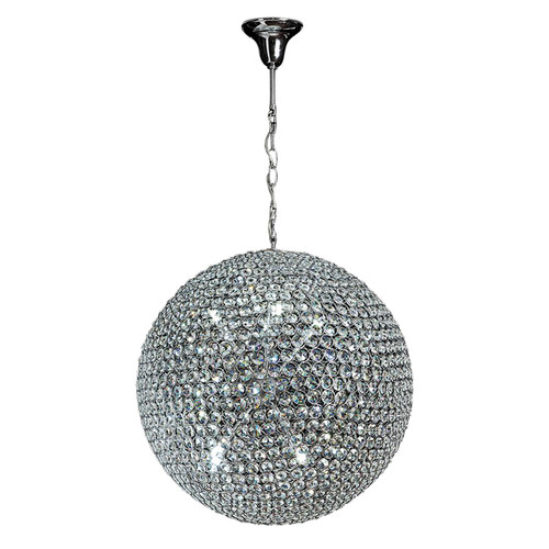 Globe Crystal LED Pendant Chandelier