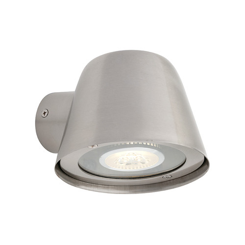 Cairns Steel Flat Top Cone Wall Light