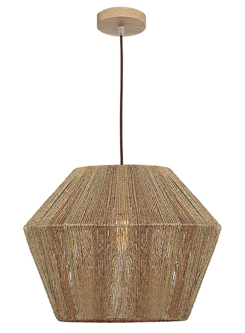Cassie Large Natural Thread Pendant Light