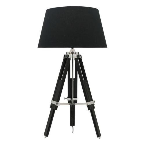 Idaho Tripod Black Table Lamp