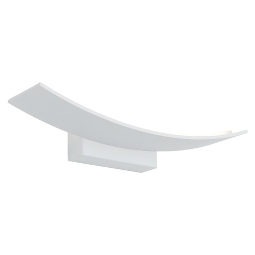 Larz Large Dimmable Wall Light - White