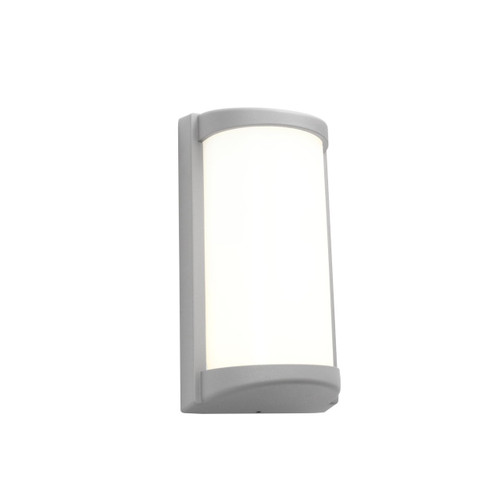 Logan LED Exterior Wall Light - Silver