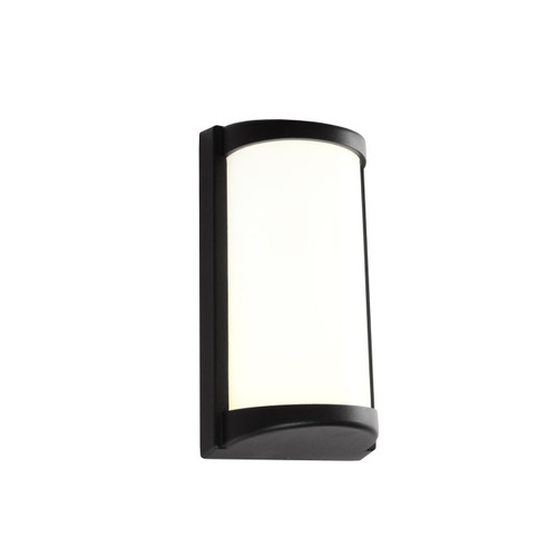 Logan LED Exterior Wall Light  - Black