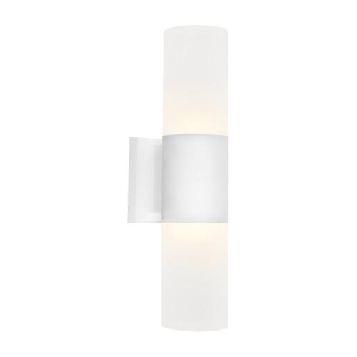 Ottawa 2 Light Exterior Wall Light - White