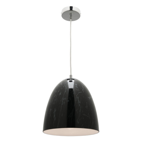 Rampi Marble Pendant Light - Black