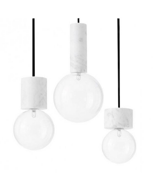 Carreza Marble Pendant Light