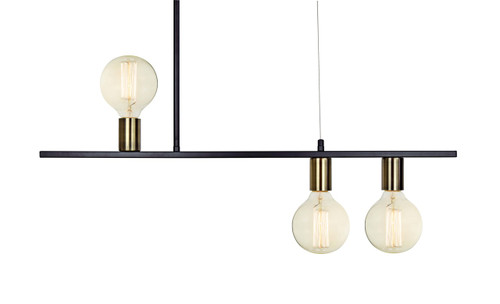 Oreka 3 Light Pendant Light