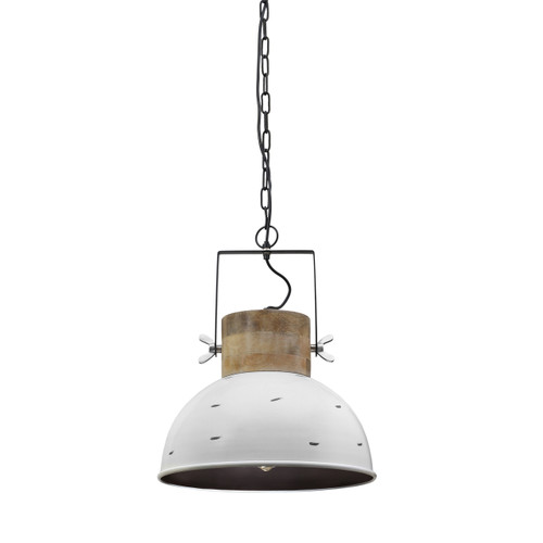 Cantina Timber And Steel Pendant Light