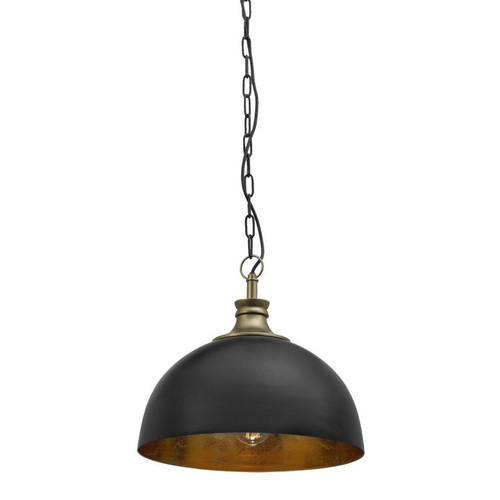 Hope Black And Gilded Gold Pendant Light